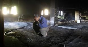 حرق المساجد