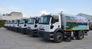 شاحنات تنظيف تركية