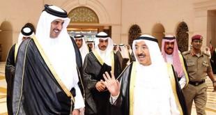 أمير قطر+أمير الكويت