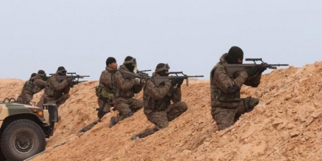 الجيش-على-الحدود-الليبية