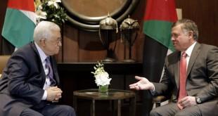عباس+الملك الأردني