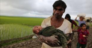 لاجئين-بورما