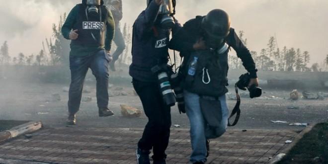صحفيون-اعتداء