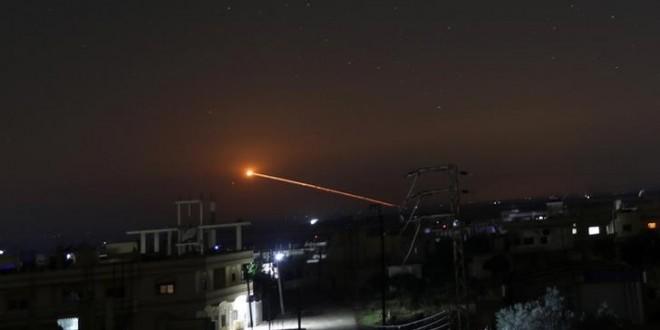 إسرائيل تقول إنها هاجمت أهدافا في سوريا بعد هجوم صاروخي إيراني